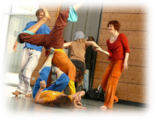 ENJOYING THE NOT KNOWING: Contact Improvisation – Basic Techniken und Prinzipien  30. März 2019 in Heidelberg
